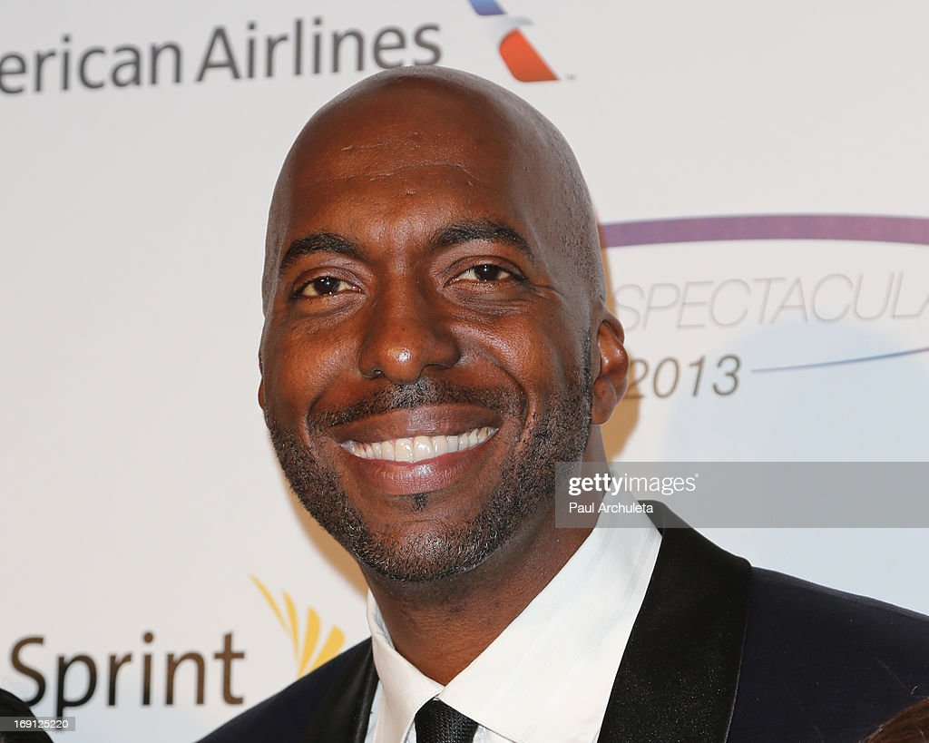 Former Professional Basketball Player <a gi-track='captionPersonalityLinkClicked' href=/galleries/search?phrase=John+Salley&family=editorial&specificpeople=215276 ng-click='$event.stopPropagation()'>John Salley</a> attends the 28th Annual Sports Spectacular Anniversary Gala at the Hyatt Regency Century Plaza on May 19, 2013 in Century City, California.