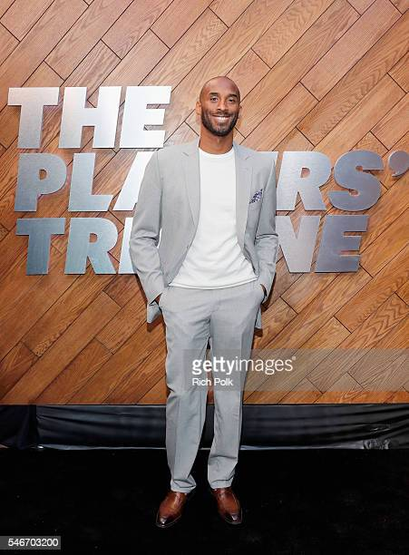 Former professional basketball player Kobe Bryant attends The Players' Tribune Summer Party at No Vacancy on July 12 2016 in Los Angeles California