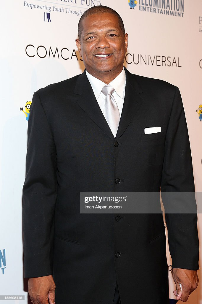 Former professional basketball player Marques Johnson attends the STARS 2013 Benefit Gala By The Fulfillment Fund at The Beverly Hilton Hotel on October 23, 2013 in Beverly Hills, California.
