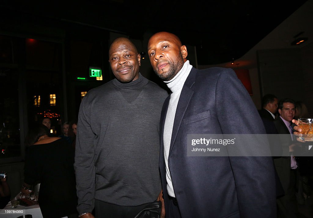 Former professional basketball players <a gi-track='captionPersonalityLinkClicked' href=/galleries/search?phrase=Patrick+Ewing&family=editorial&specificpeople=202881 ng-click='$event.stopPropagation()'>Patrick Ewing</a> and <a gi-track='captionPersonalityLinkClicked' href=/galleries/search?phrase=Alonzo+Mourning&family=editorial&specificpeople=201732 ng-click='$event.stopPropagation()'>Alonzo Mourning</a> attend the After@inauguration Celebration on January 19, 2013 in Washington, United States.
