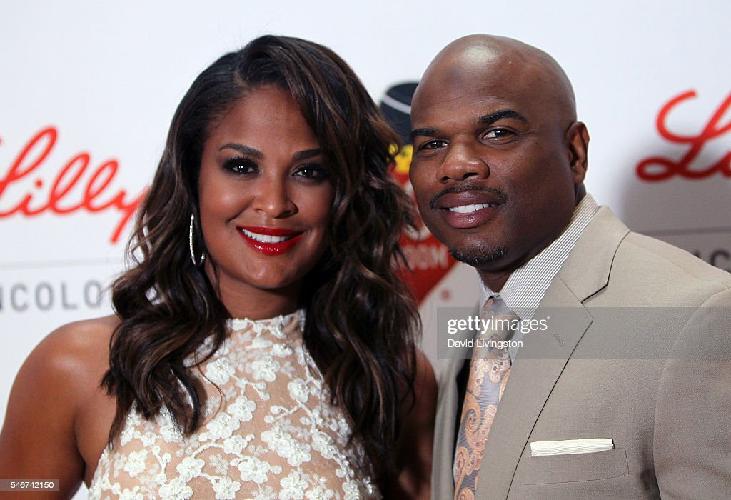 Former professional boxer Laila Ali and husband former NFL player Curtis Conway attend the 2nd Annual Sports Humanitarian of the Year Awards at the...