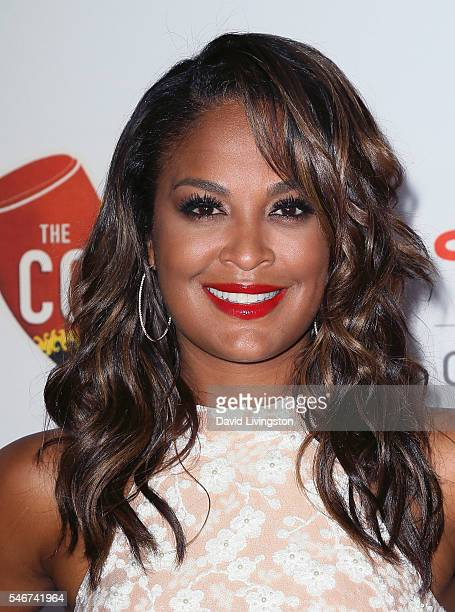 Former professional boxer Laila Ali attends the 2nd Annual Sports Humanitarian of the Year Awards at the Conga Room on July 12 2016 in Los Angeles...