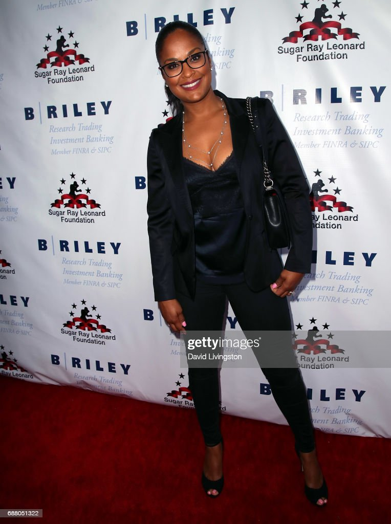 Former professional boxer Laila Ali attends the 8th Annual 'Big Fighters, Big Cause' Charity Boxing Night at the Loews Santa Monica Beach Hotel on May 24, 2017 in Santa Monica, California.