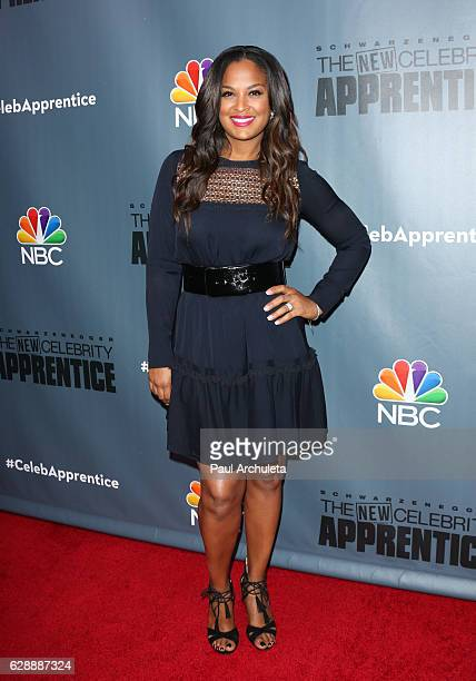Former Professional Boxer Laila Ali attends the QA for NBC's 'The New Celebrity Apprentice' at NBC Universal Lot on December 9 2016 in Universal City...