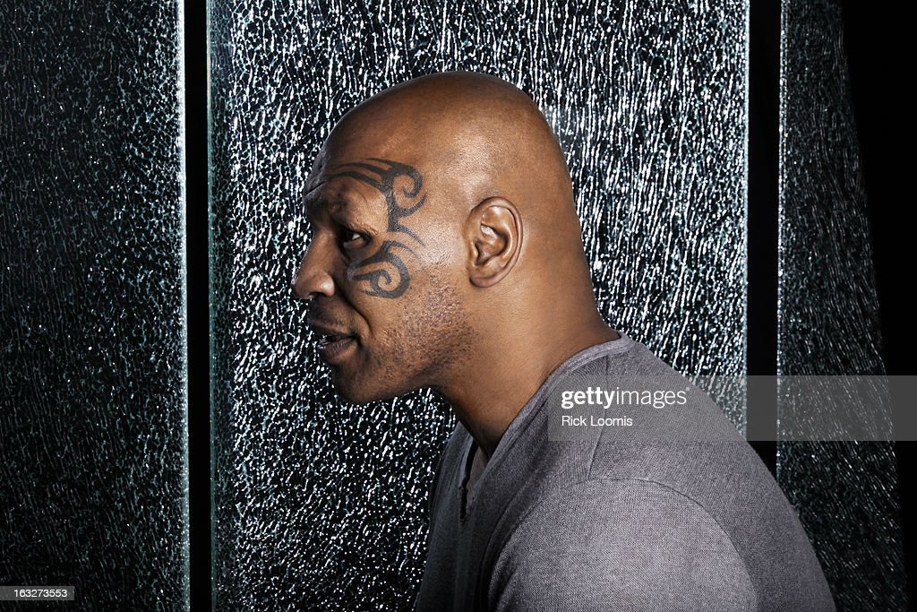 Former professional boxer Mike Tyson is photographed for Los Angeles Times on March 3, 2013 in Los Angeles, California. PUBLISHED IMAGE.