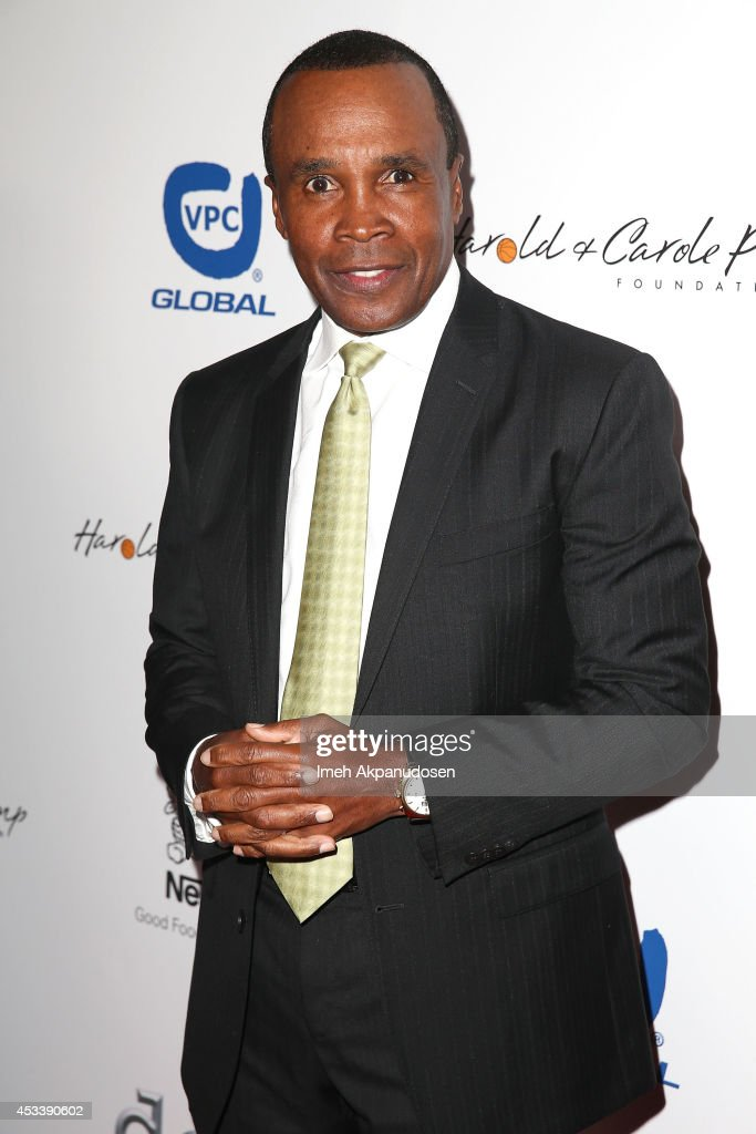 Former professional boxer <a gi-track='captionPersonalityLinkClicked' href=/galleries/search?phrase=Sugar+Ray+Leonard&family=editorial&specificpeople=206479 ng-click='$event.stopPropagation()'>Sugar Ray Leonard</a> attends the 14th Annual Harold & Carole Pump Foundation Gala at the Hyatt Regency Century Plaza on August 8, 2014 in Century City, California.