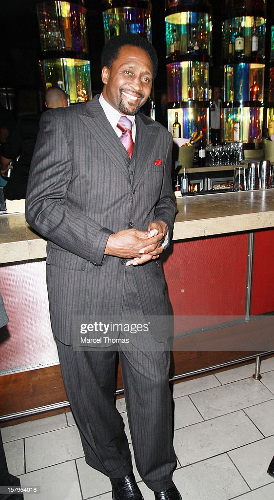 Former professional boxer Thomas 'Hitman' Hearns attends the Launch Party for 'Mike Tyson Cares Foundation' at Tabu Ultra Lounge at MGM Grand on December 7, 2012 in Las Vegas, Nevada.