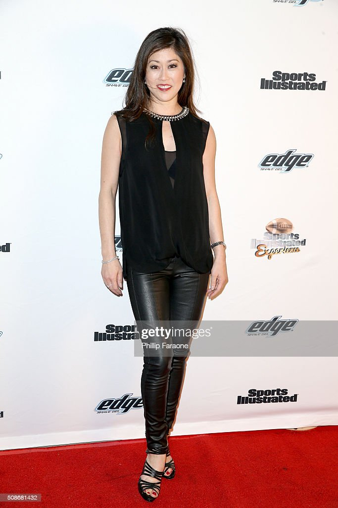Former professional figure skater Kristi Yamaguchi attends the Sports Illustrated Experience Friday Night Party on February 5, 2016 in San Francisco, California.