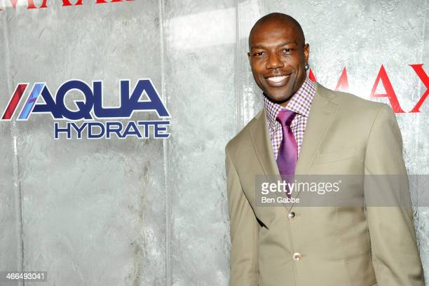 Former professional football player Terrell Owens attends MAXIM Magazine's 'Big Game Weekend' Sponsored By AQUAhydrate on February 1 2014 in New York...