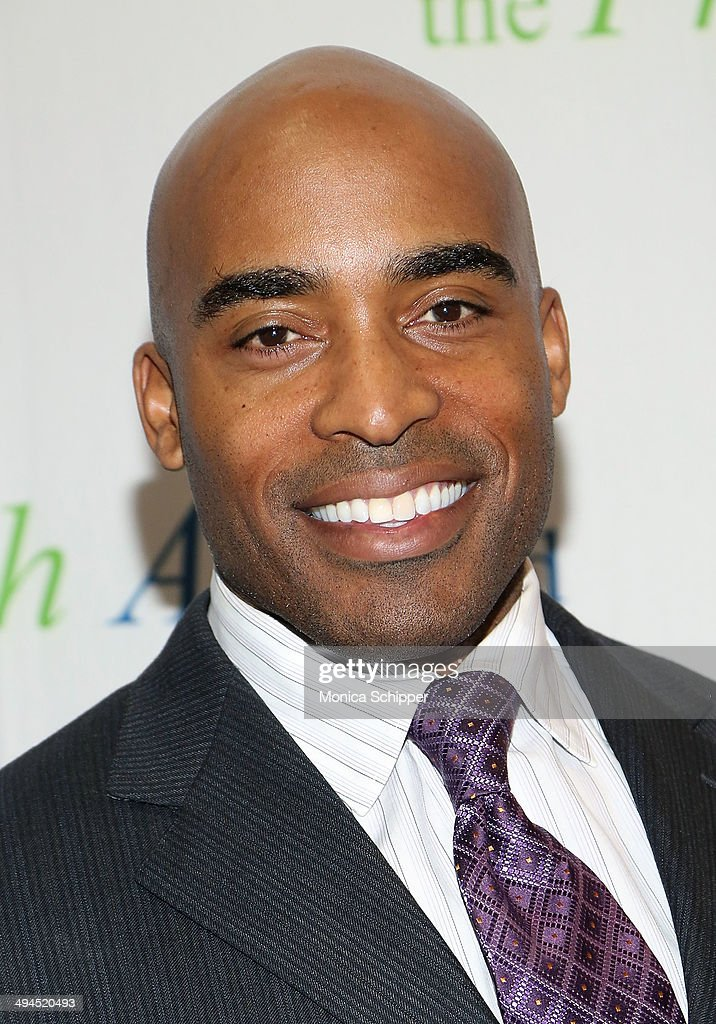 Former professional football player <a gi-track='captionPersonalityLinkClicked' href=/galleries/search?phrase=Tiki+Barber&family=editorial&specificpeople=184538 ng-click='$event.stopPropagation()'>Tiki Barber</a> attends the 2014 Fresh Air Fund Honoring Our American Hero at Pier Sixty at Chelsea Piers on May 29, 2014 in New York City.