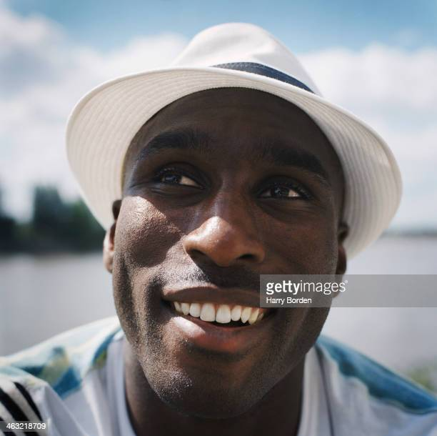 Former professional footballer Sol Campbell is photographed for the Observer in London United Kingdom