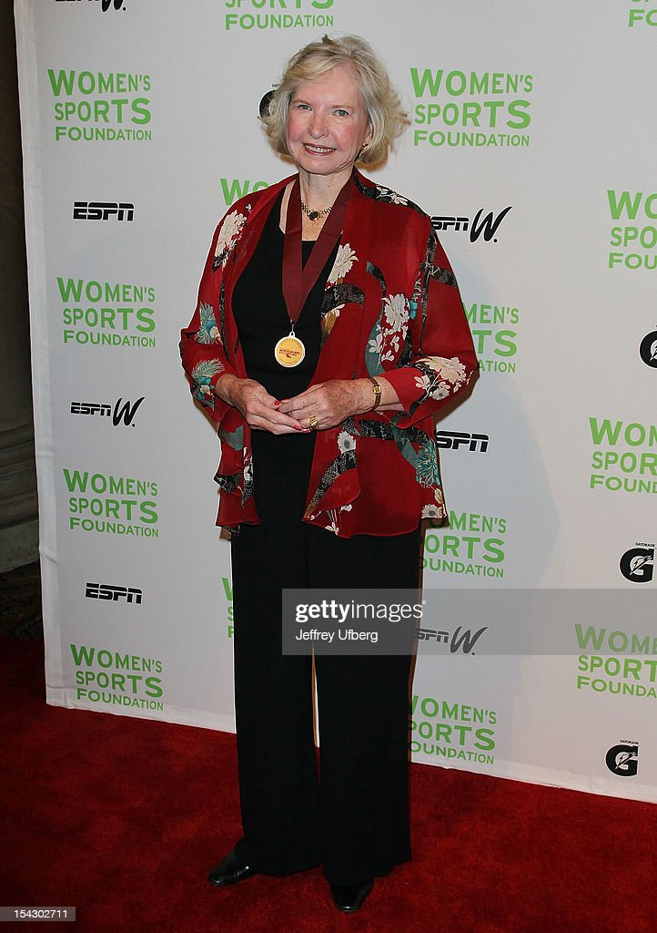 Former professional race car driver Janet Guthrie attends the 33rd Annual Salute To Women In Sports Gala at Cipriani Wall Street on October 17, 2012 in New York City.