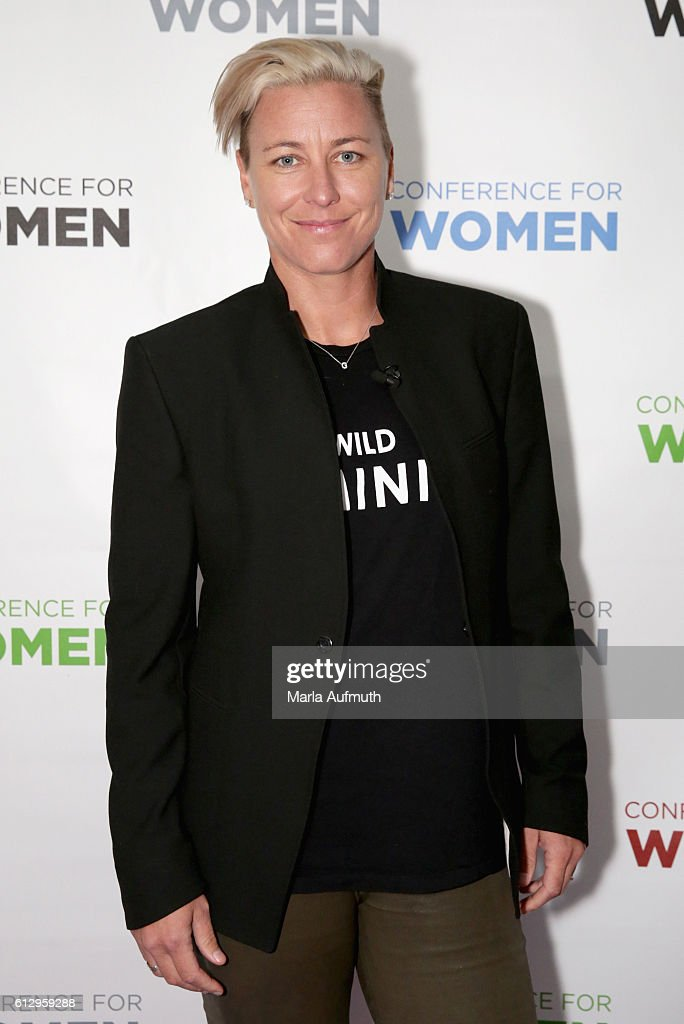 Former professional soccer player Abby Wambach attends the Pennsylvania Conference for Women 2016 at Pennsylvania Convention Center on October 6, 2016 in Philadelphia, Pennsylvania.