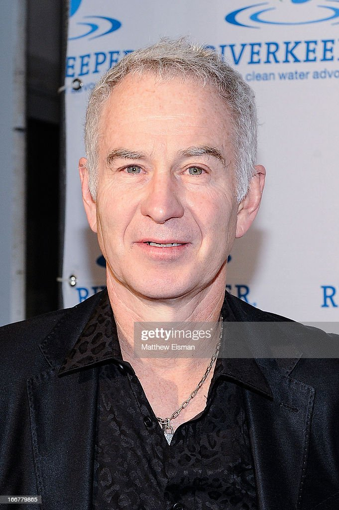 Former professional tennis player <a gi-track='captionPersonalityLinkClicked' href=/galleries/search?phrase=John+McEnroe&family=editorial&specificpeople=159411 ng-click='$event.stopPropagation()'>John McEnroe</a> attends the 2013 Riverkeeper's Fishermen's Ball at Pier 60 on April 16, 2013 in New York City.