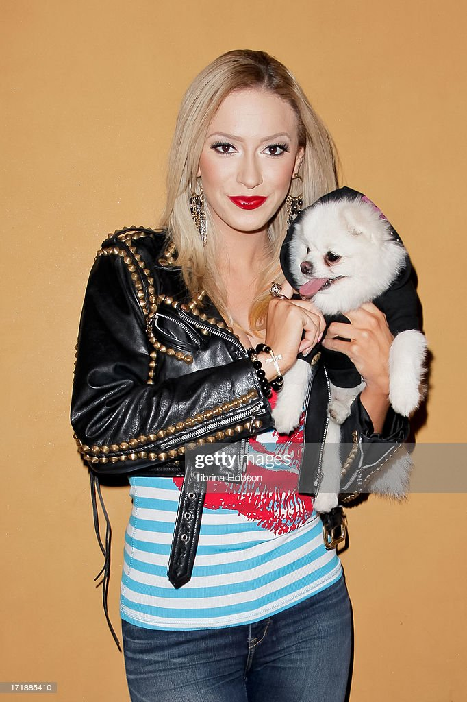 Former Pussycat Doll <a gi-track='captionPersonalityLinkClicked' href=/galleries/search?phrase=Kaya+Jones&family=editorial&specificpeople=601338 ng-click='$event.stopPropagation()'>Kaya Jones</a> launches her Hollywood Doll Boutique at the Iconic Sweet! on June 28, 2013 in Hollywood, California.