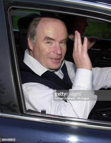 Former Railtrack chief executive Gerald Corbett leaving his home near Redbourne Hertfordshire following his resignation Mr Corbett's resignation came...