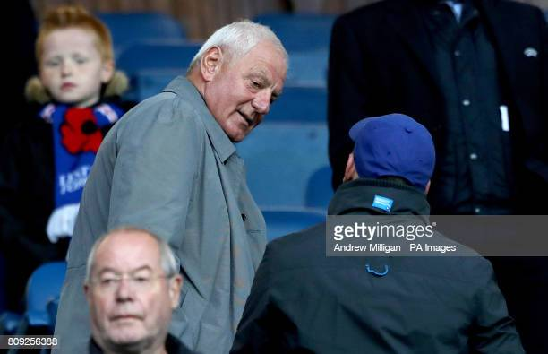 Former Rangers chairman and manager Walter Smith in the stands
