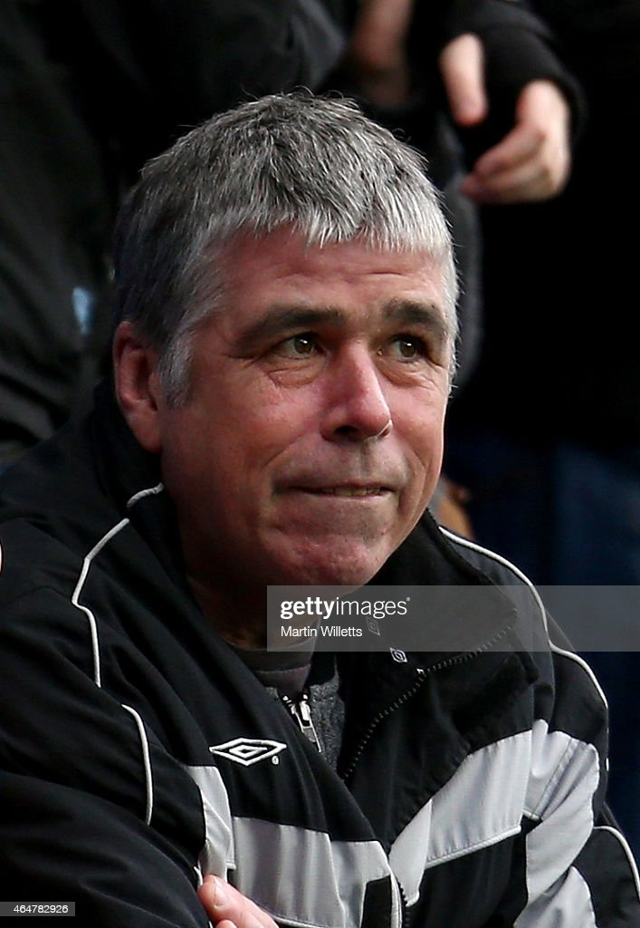 Former Reading and Nottingham Forest player Neil Webb looks on from the crowd during the Sky Bet Championship match between Reading and Nottingham Forest at Madejski Stadium on February 28, 2015 in Reading, England.