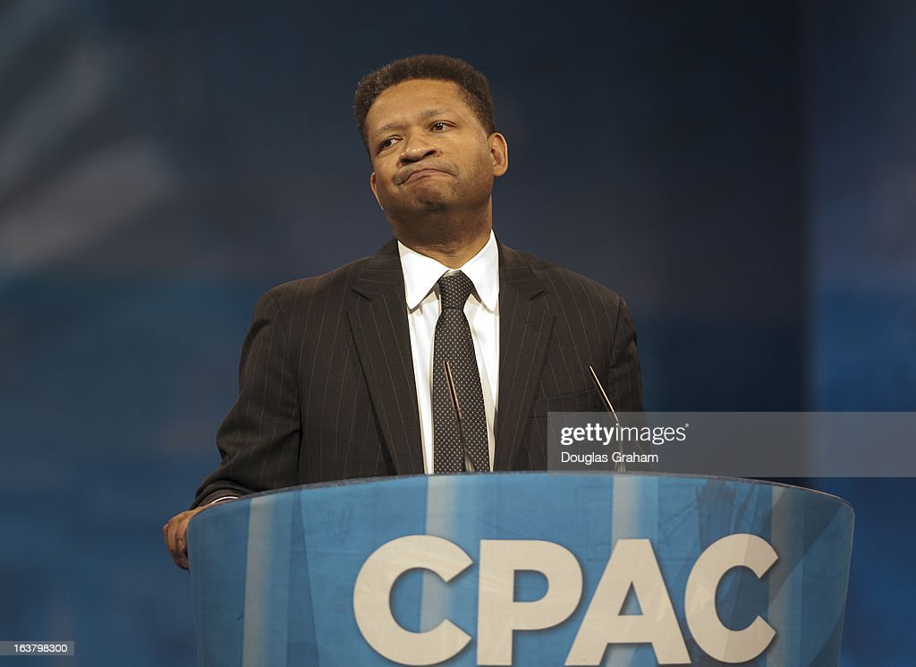 Former Rep Artur Davis during the 2013 Conservative Political Action Conference at the Gaylord National Resort Conference Center at National Harbor...