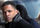 Former Rep Jesse Jackson Jr enters US District Court February 20 2013 in Washington DC Jackson and his wife Sandi Jackson are expected to plead...