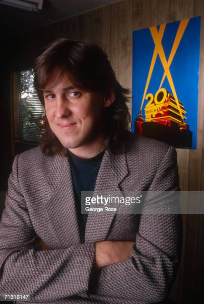 Former Rolling Stone reporterturned film writer and director Cameron Crowe poses during a 1989 Century City California photo portrait session Crowe...