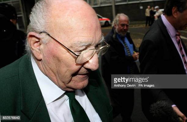Former Royal British Legion vicechairman Edward Portlock outside Gloucester Crown Court