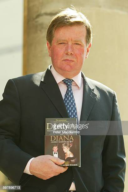 Former royal protection police officer for the late Princess of Wales Ken Wharfe promotes his book 'Diana Closely Guarded Secret' in London April 24...