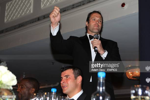 Former rugby player Martin Bayfield at the PFA Player of the Year Awards 2009 at the Grosvenor House Hotel London
