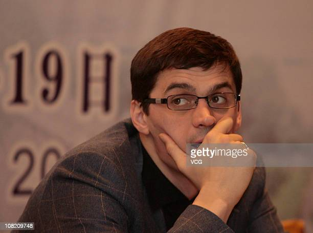 Former Russian swimmer Alexander Popov attends the Official Debriefing of the Singapore Youth Olympic Games at Sofitel Galaxy Hotel on January 19...