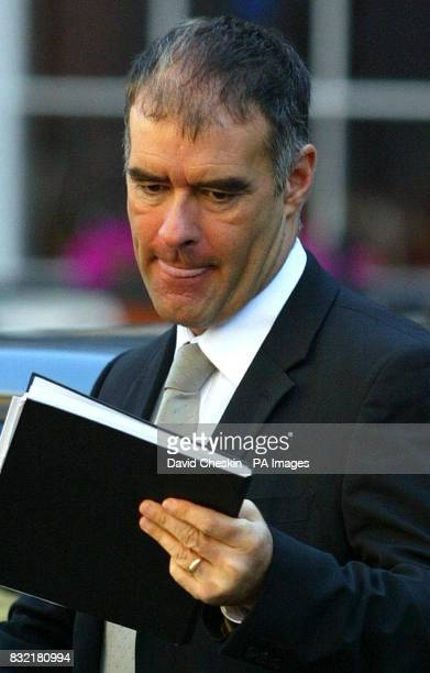 Former Scottish Socialist Party leader Tommy Sheridan arrives at the Court of Session in Edinburgh where his defamation action against the News of...