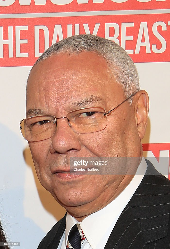 Former Secretary of State <a gi-track='captionPersonalityLinkClicked' href=/galleries/search?phrase=Colin+Powell&family=editorial&specificpeople=118599 ng-click='$event.stopPropagation()'>Colin Powell</a> attends The Daily Beast Bi-Partisan Inauguration Brunch at Cafe Milano on January 20, 2013 in Washington, DC.