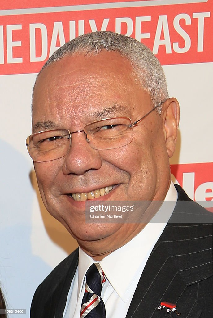 Former Secretary of State Colin Powell attends The Daily Beast Bi-Partisan Inauguration Brunch at Cafe Milano on January 20, 2013 in Washington, DC.