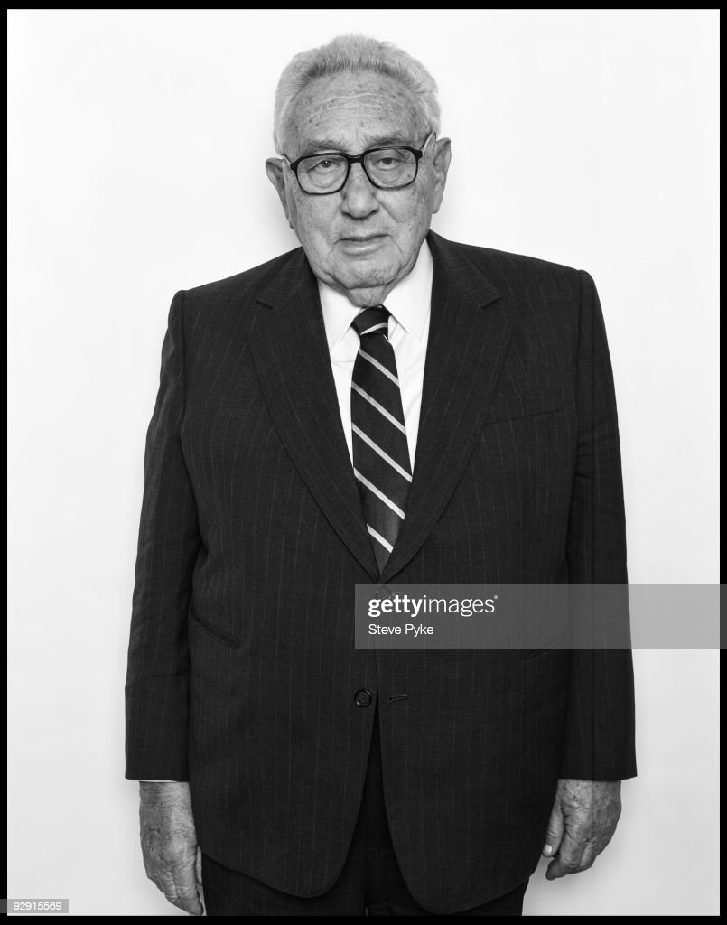 Former Secretary of State, Henry Kissinger poses at a portrait session in New York on March 14, 2007.