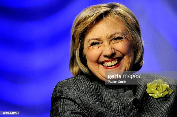 Former Secretary of State Hillary Rodham Clinton delivers remarks during the National Council for Behavioral Health's Annual Conference at the...