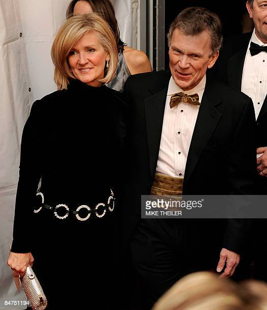 Former Senate Majority Leader Tom Daschle and his wife Linda Hall arrive at newlyrenovated Ford's Theatre for a gala to mark the 200th anniversary of...