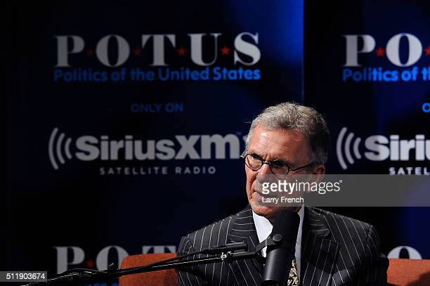 Former senators Tom Daschle and Trent Lott not pictured discuss their new book Crisis Point at SiriusXMBipartisan Policy Center's event hosted by...