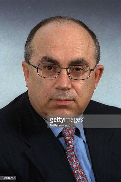 Former senior Shin Bet official Yossi Ginossar poses for a portrait January 11 1999 in Jerusalem Israel Ginossar a key envoy of three Israeli prime...