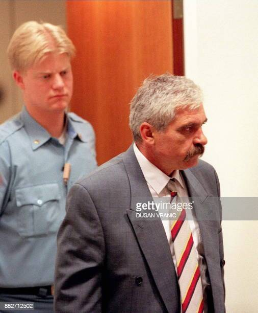 Former Serb mayor of Vukovar Slavko Dokmanovic arrives at the UN war crimes tribunal in The Hague 04 July The 47yearold Dokmanovic pleaded not guilty...