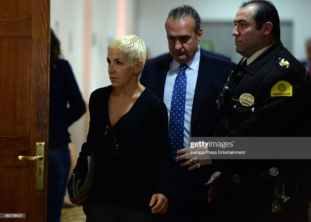 Singer Ana Torroja Attends Court In Palma de Mallorca