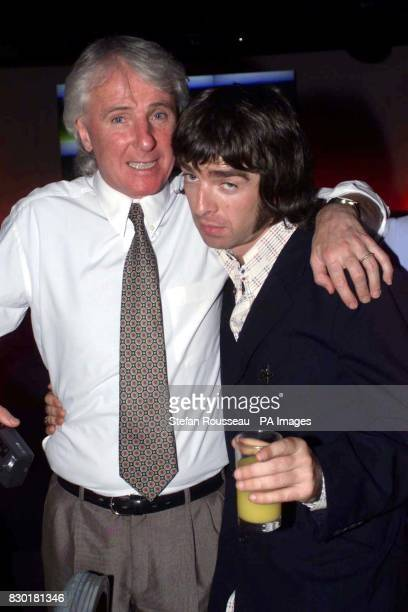 Former soccer player Stan Bowles and Oasis guitarist Noel Gallagher at the Loaded Awards Oasis were presented with awards for 'Album Of The Decade'...