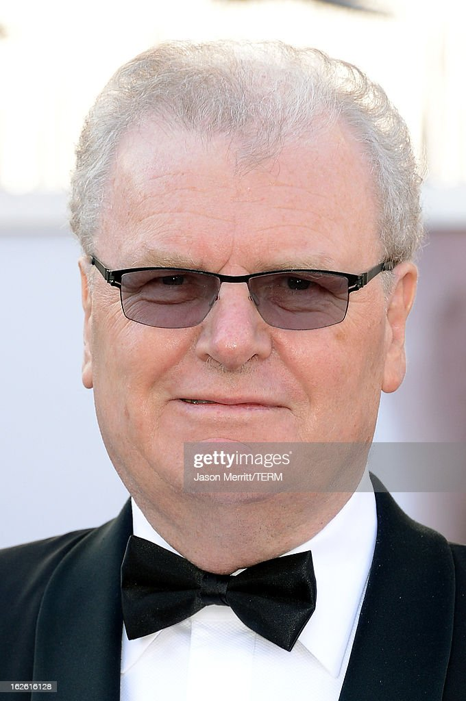 Former Sony Corp. Chairman Howard Stringer arrives at the Oscars at Hollywood & Highland Center on February 24, 2013 in Hollywood, California.