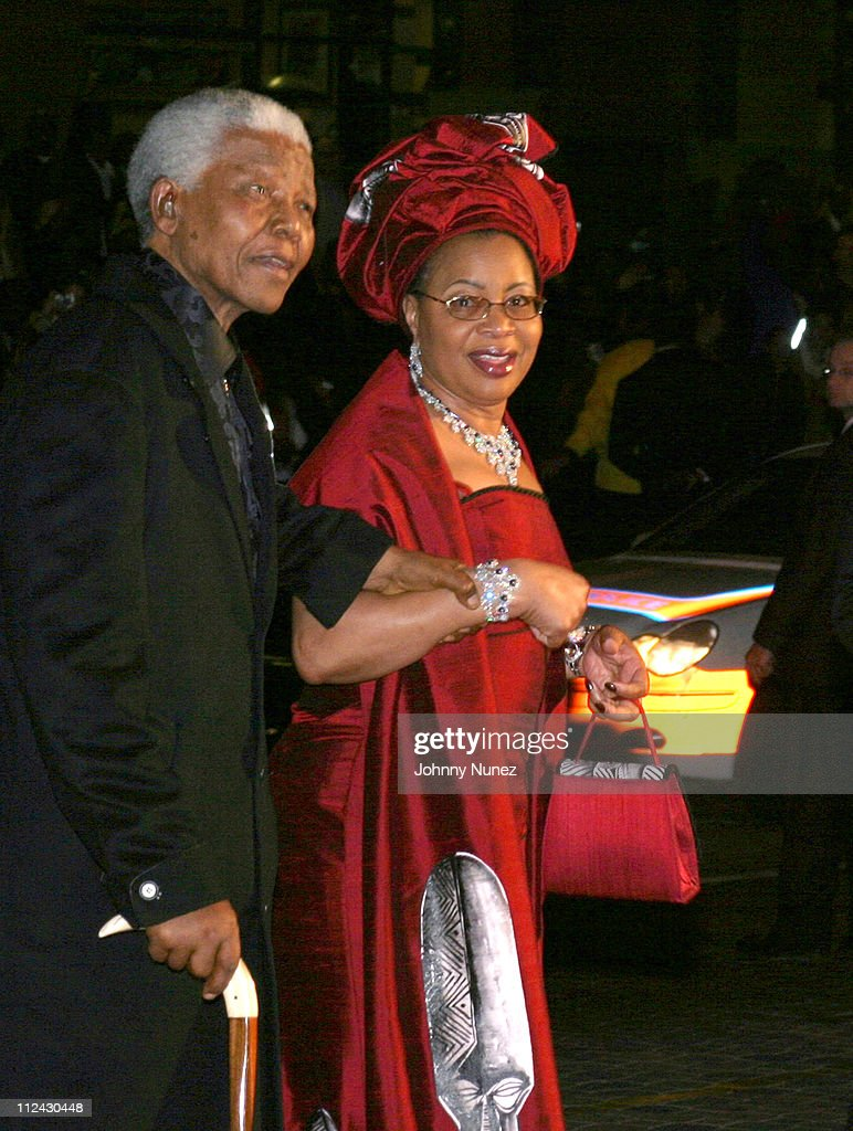 Former South African President <a gi-track='captionPersonalityLinkClicked' href=/galleries/search?phrase=Nelson+Mandela&family=editorial&specificpeople=118613 ng-click='$event.stopPropagation()'>Nelson Mandela</a> and his wife Graca Machel arrive for <a gi-track='captionPersonalityLinkClicked' href=/galleries/search?phrase=Nelson+Mandela&family=editorial&specificpeople=118613 ng-click='$event.stopPropagation()'>Nelson Mandela</a>'s 85th birthday celebration