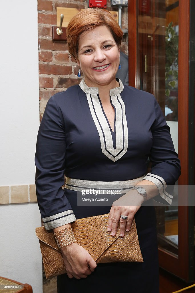 Former Speaker of the New York City Council Christine Quinn attends Marisa Acocella Marchetto's 'Ann Tenna' book launch party at Da Silvano on...