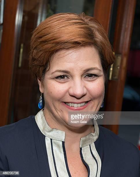 Former Speaker of the New York City council Christine Quinn attends Marisa Acocella Marchetto's 'Ann Tenna' book launch party at Da Silvano on...