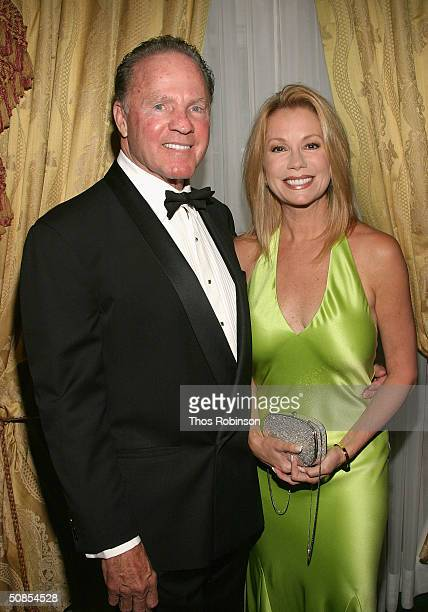 Former Sportcaster Frank Gifford and Television personality Kathy Lee Gifford attend the Bal Du Prentemps Benefit for the Parkinsons Disease...