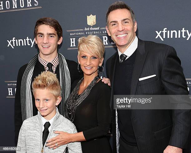 Former St Louis Rams quarterback Kurt Warner attends the 3rd Annual NFL Honors at Radio City Music Hall on February 1 2014 in New York City