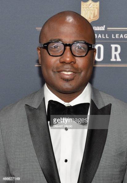 Former St Louis Rams running back Marshall Faulk attends the 3rd Annual NFL Honors at Radio City Music Hall on February 1 2014 in New York City