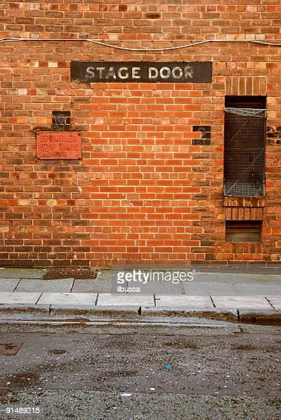 Former stage door
