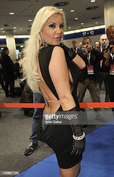 Former starlet Tatjana Gsell attends the opening of the 2010 Venus Erotic Fair at Messe Berlin on October 21 2010 in Berlin Germany