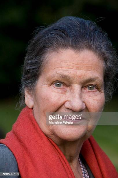 Former State Minister and president of the European Parliament Simone Veil